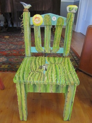 This chair by Antoinette Walker, entitled
